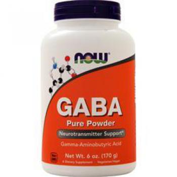 NOW Foods GABA 170 Gramm