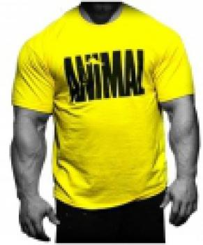 Universal Nutrition Animal T Shirt gelb