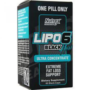 Nutrex Lipo 6 Black Hers Ultra Concentrate 60 Kapseln
