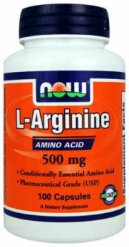 NOW Foods L-Arginine 500mg/250 Capsules