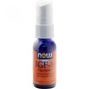NOW Foods IGF-1+ LipoSpray 1 Fl. Oz.