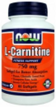 NOW Foods L-Carnitine 500mg/180 Capsules