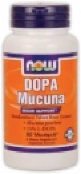 NOW Foods DOPA Mucuna 400mg/90 Vcaps